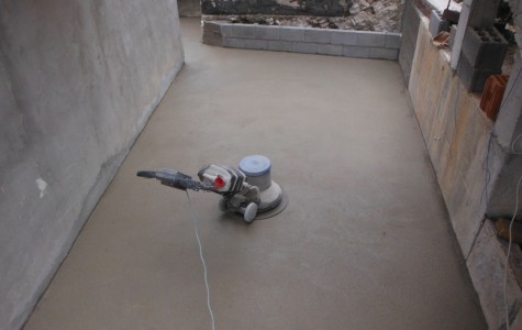 Screed installation